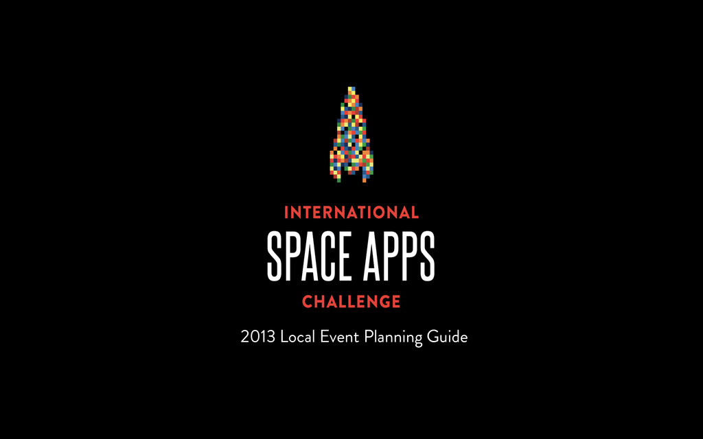 2013 Local Event Planning Guide
