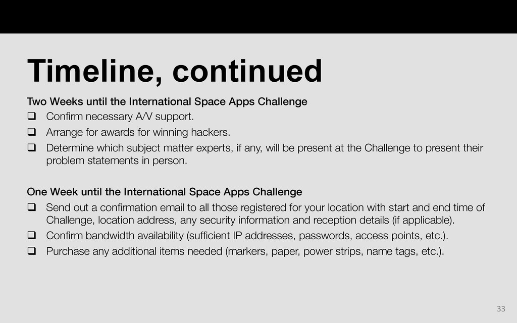 Two Weeks until the International Space Apps Ch...