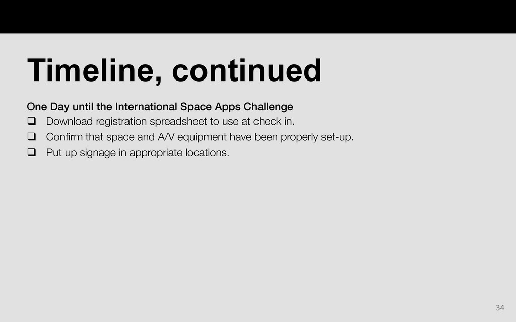 One Day until the International Space Apps Chal...