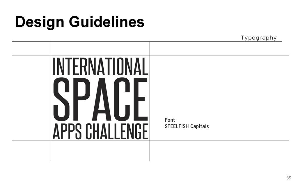 Design Guidelines  39