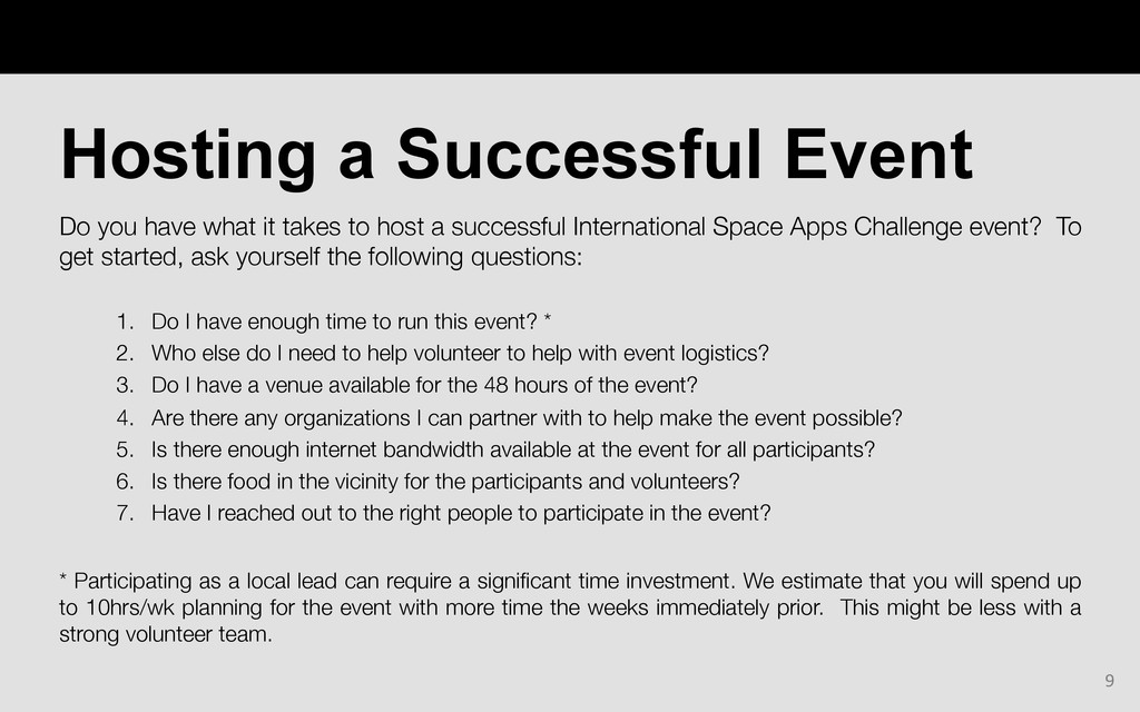 Do you have what it takes to host a successful ...