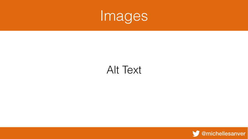 @michellesanver Images Alt Text