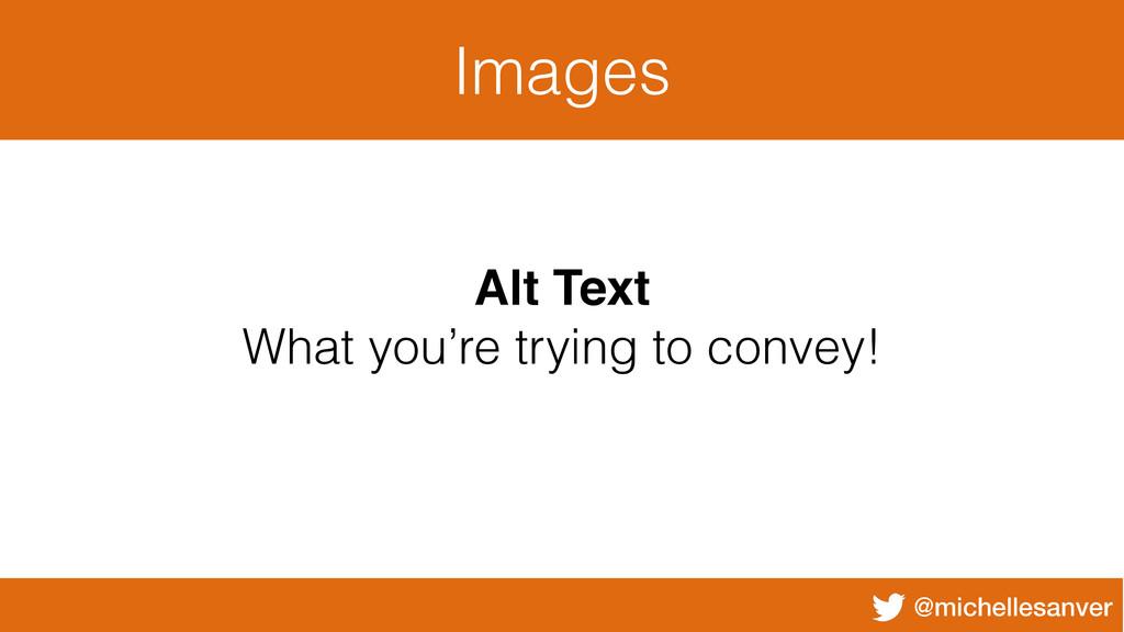 @michellesanver Images Alt Text What you're try...