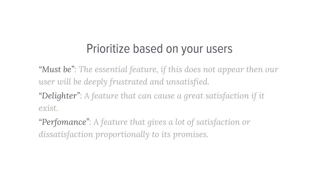 """""""Must be"""": The essential feature, if this does ..."""