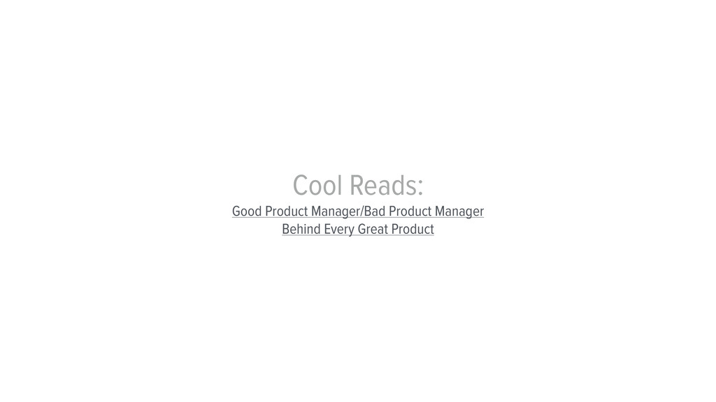 Cool Reads: Good Product Manager/Bad Product Ma...
