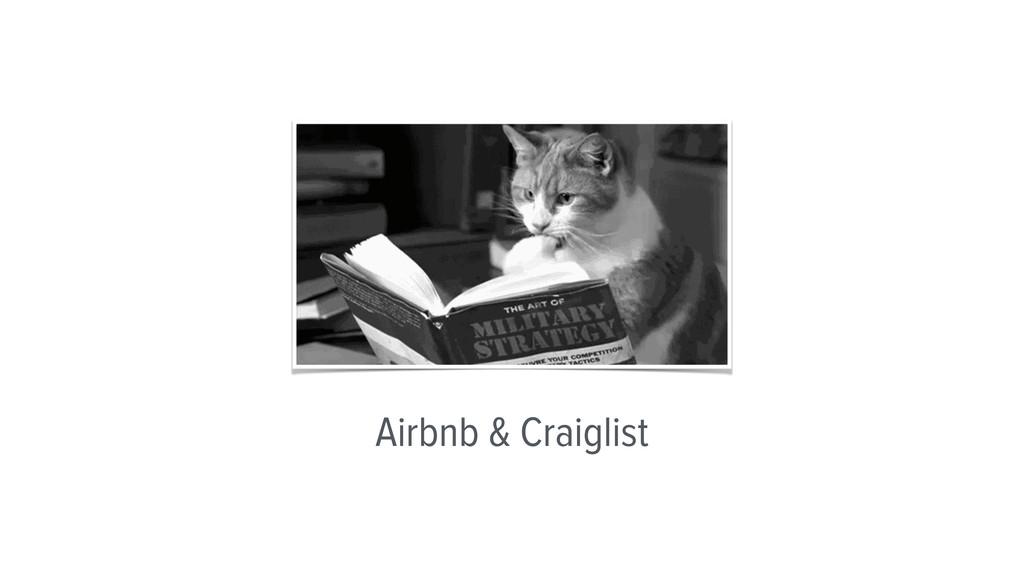 Airbnb & Craiglist