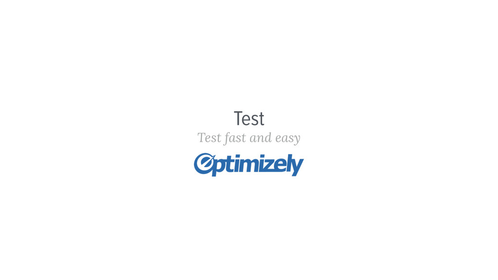 Test Test fast and easy