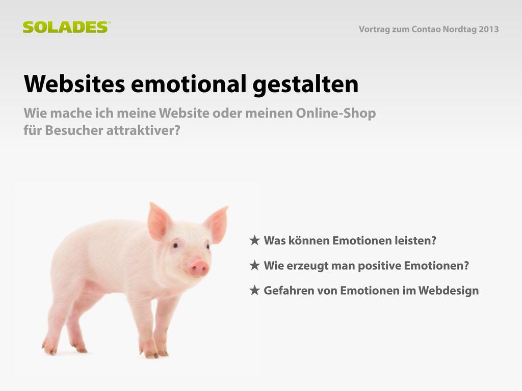 Websites emotional gestalten Wie mache ich mein...