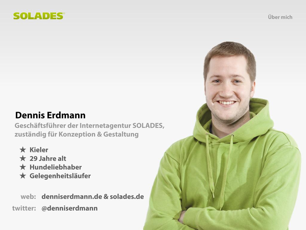 Dennis Erdmann Geschäftsführer der Internetagen...