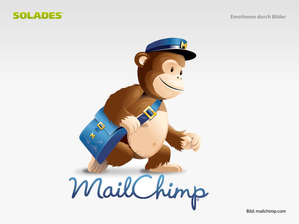 Bild: mailchimp.com Emotionen durch Bilder