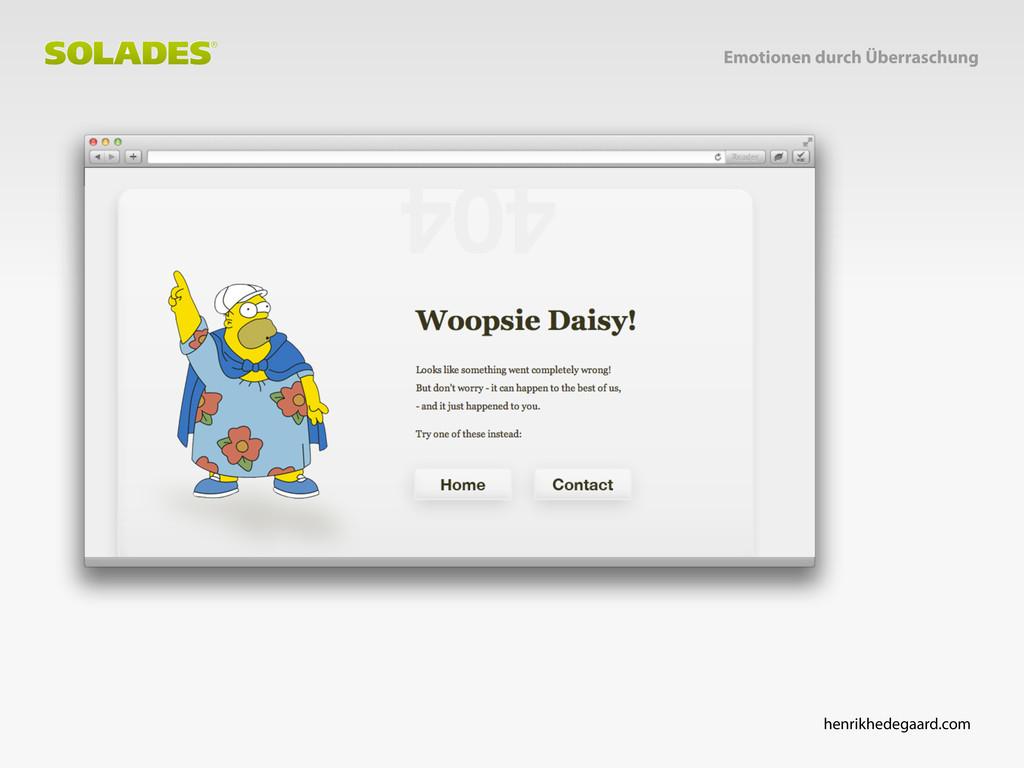 henrikhedegaard.com Emotionen durch Überraschung