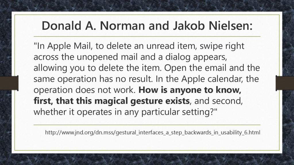 "Donald A. Norman and Jakob Nielsen: ""In Apple M..."