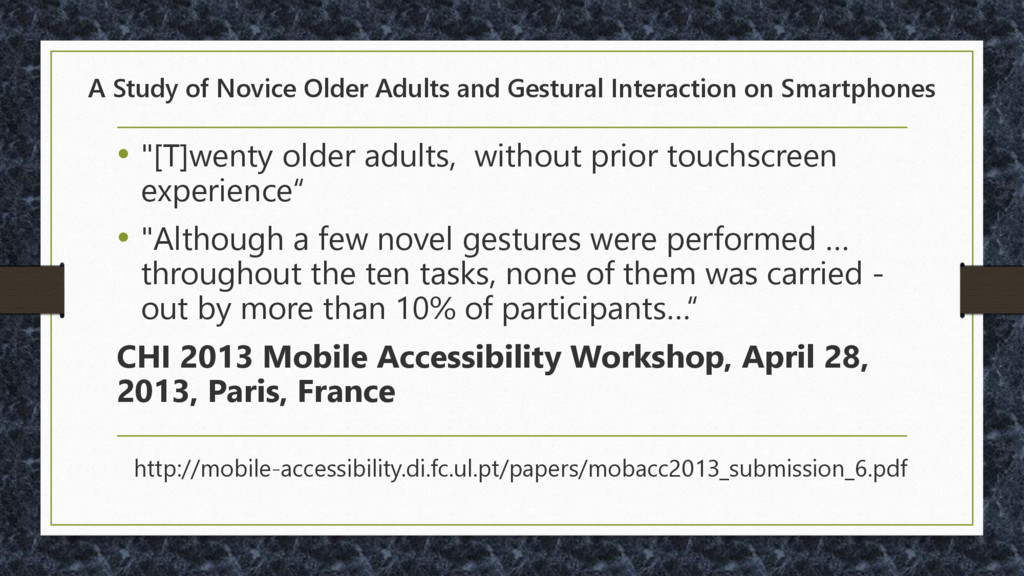 A Study of Novice Older Adults and Gestural Int...