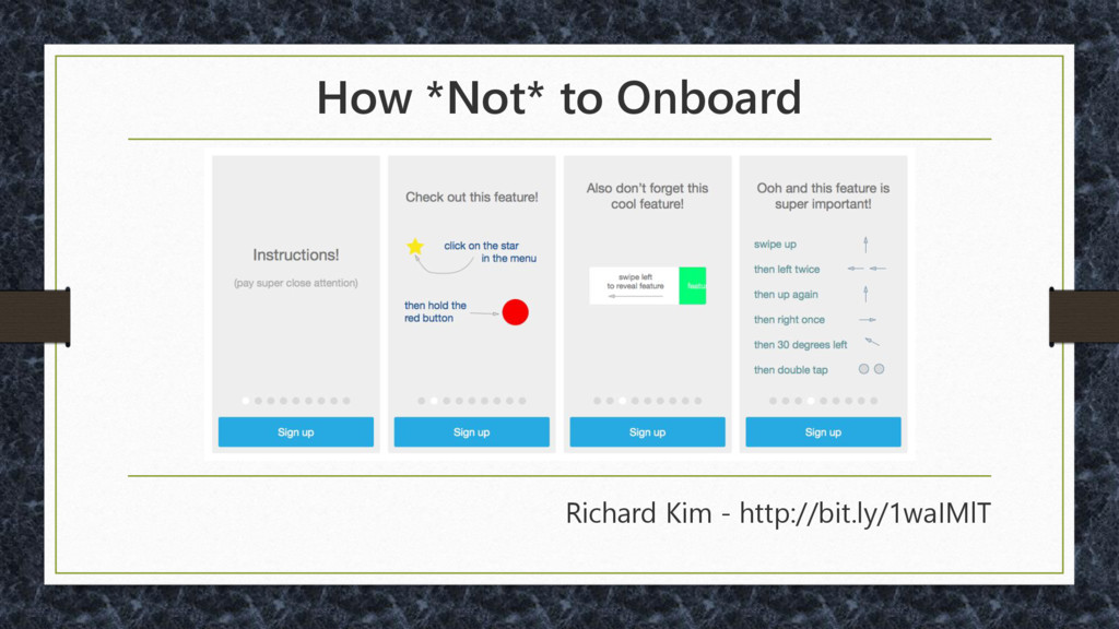 How *Not* to Onboard Richard Kim - http://bit.l...