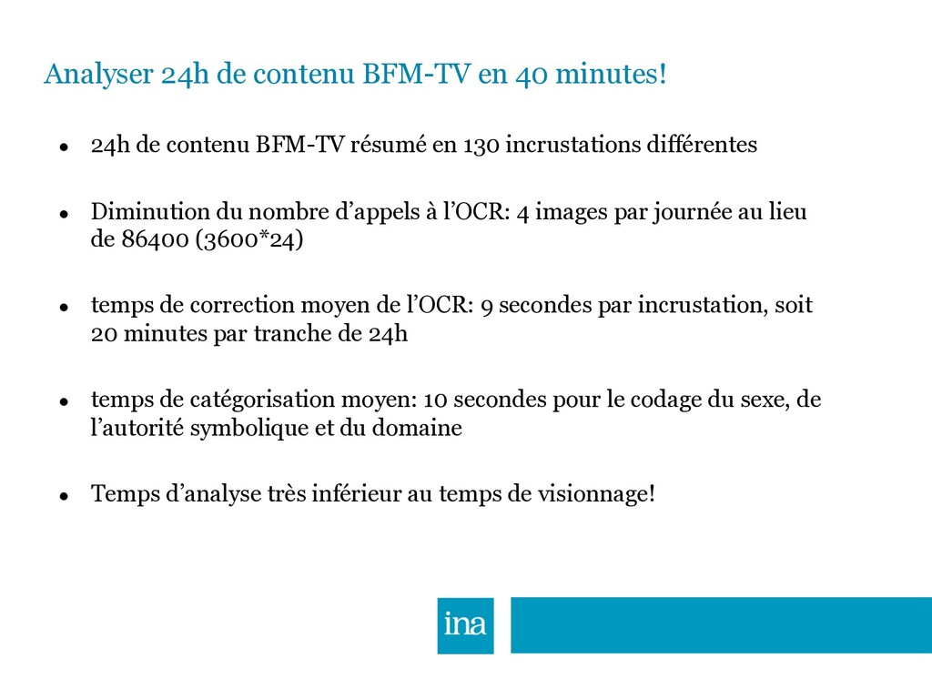 Analyser 24h de contenu BFM-TV en 40 minutes! ●...