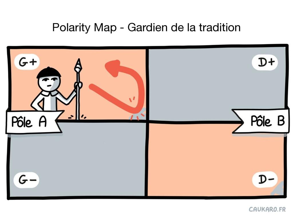 Polarity Map - Gardien de la tradition
