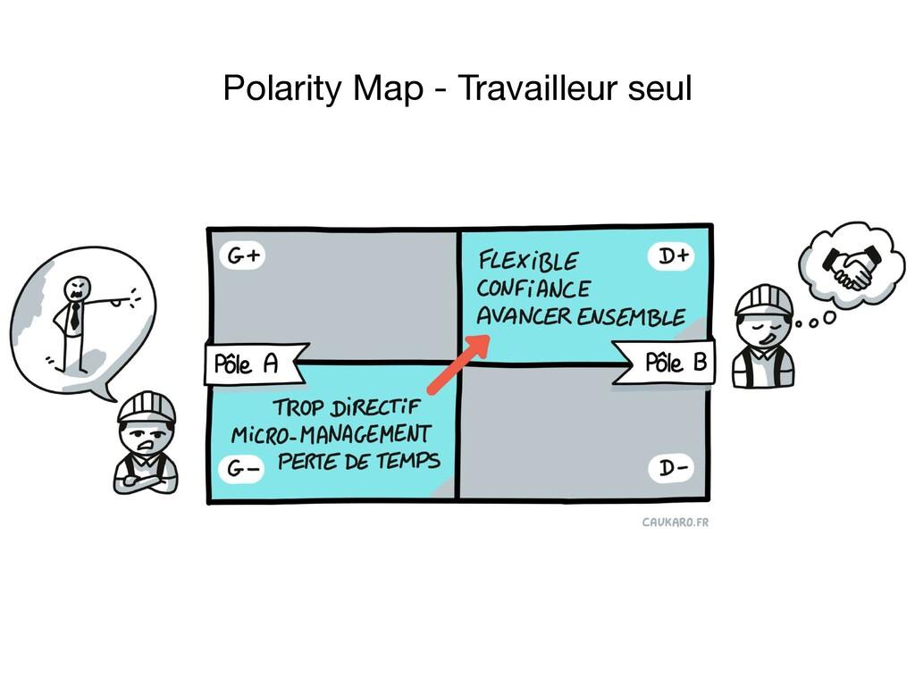 Polarity Map - Travailleur seul