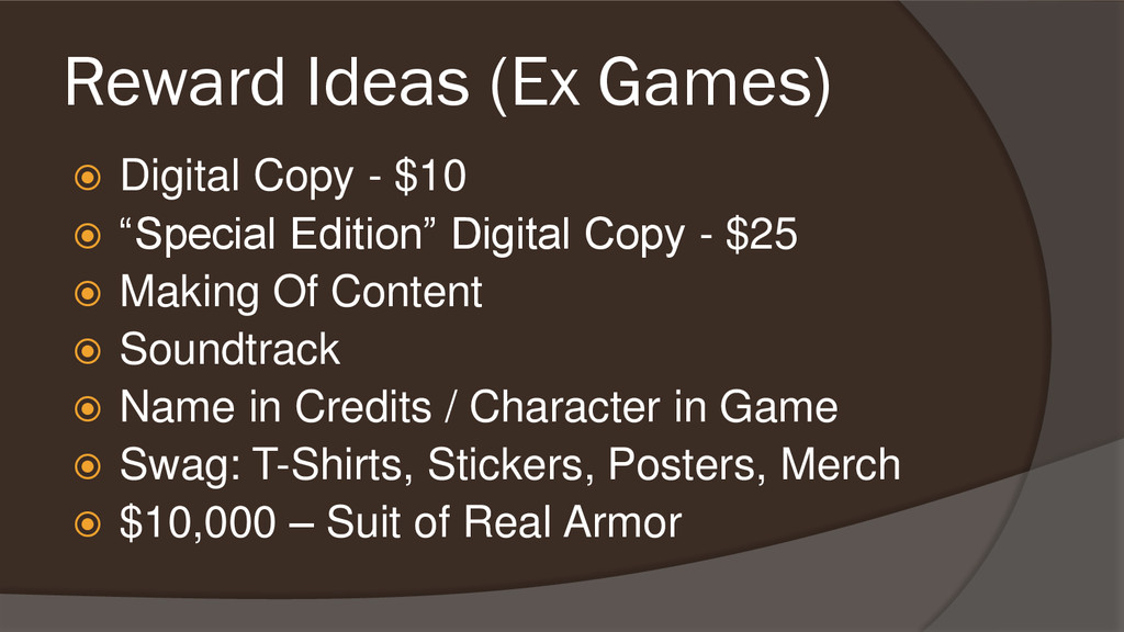 Reward Ideas (Ex Games)  Digital Copy - $10  ...