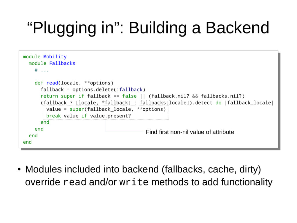 """Plugging in"": Building a Backend module Mobili..."