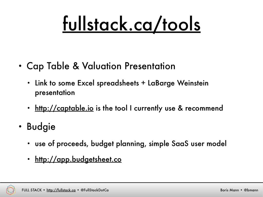 FULL STACK • http://fullstack.ca • @FullStackDo...