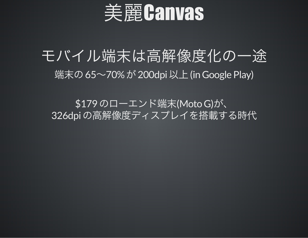 Canvas 65 70% 200dpi (in Google Play) $179 (Mot...