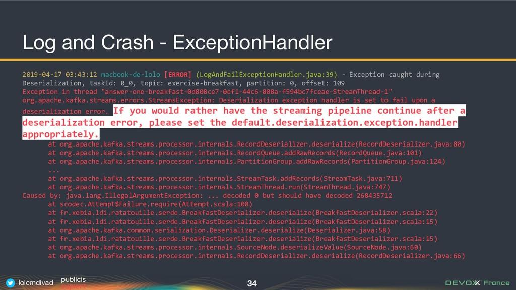 loicmdivad Log and Crash - ExceptionHandler 201...