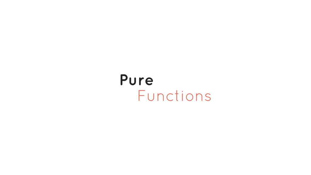 Functions Pure