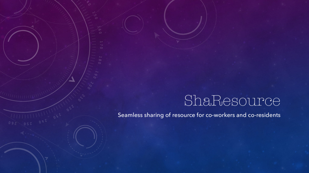 ShaResource Seamless sharing of resource for co...