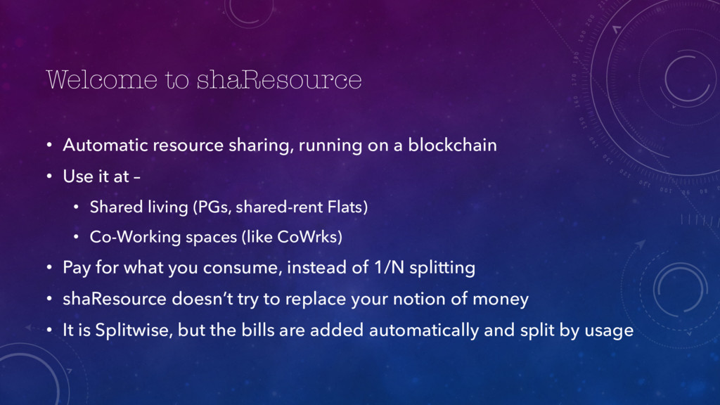 Welcome to shaResource • Automatic resource sha...