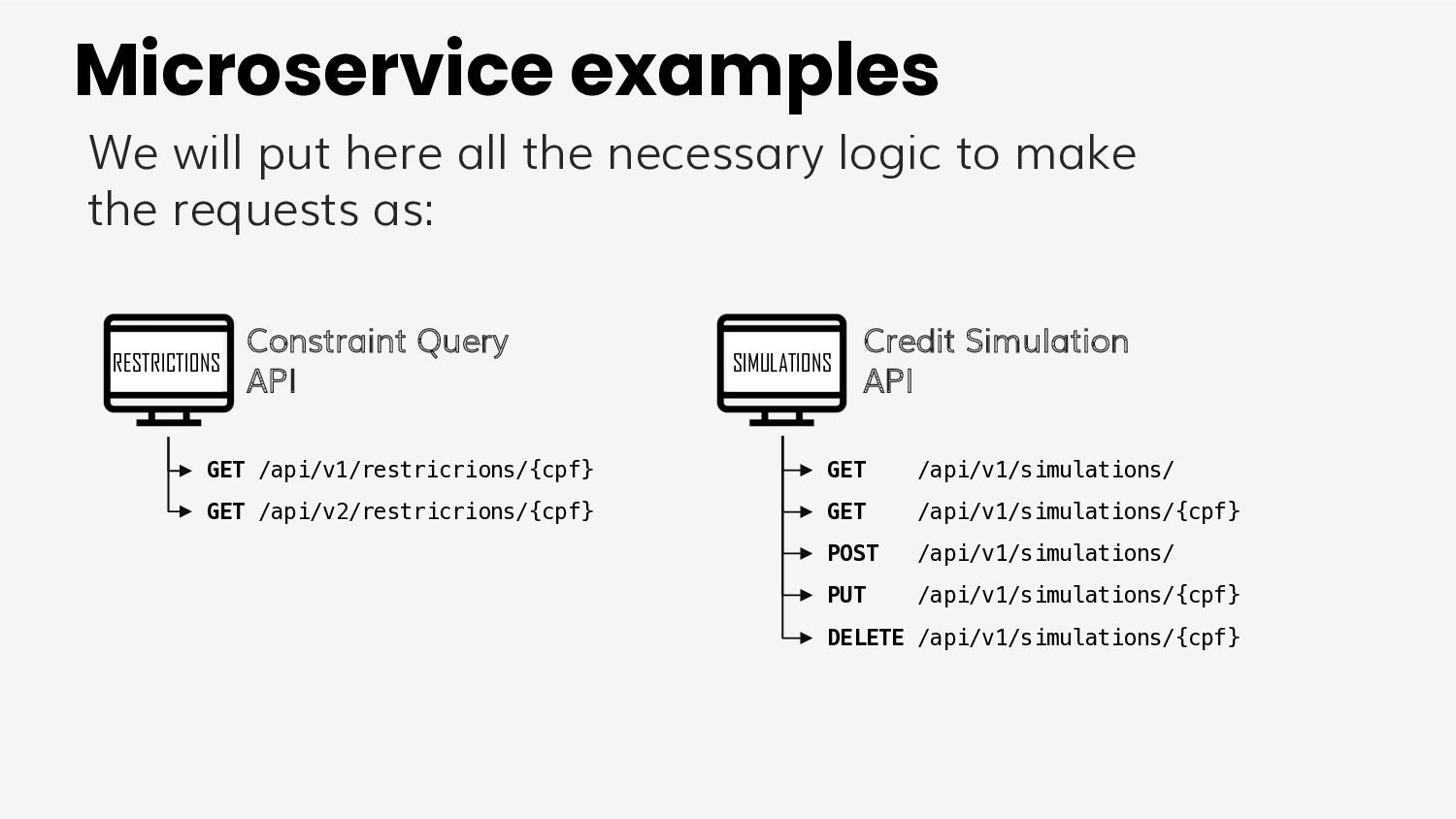 How to use client <-> test?