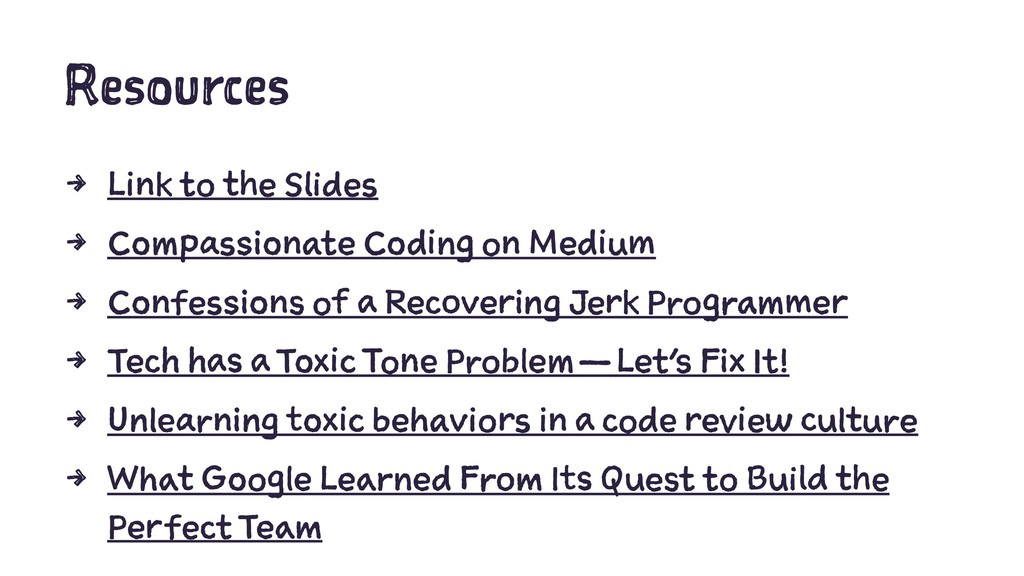 Resources 4 Link to the Slides 4 Compassionate ...