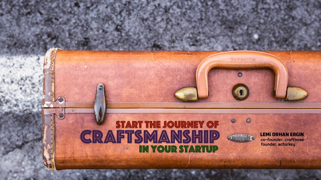 CRAFTSMANSHIP Start the journey of in your star...