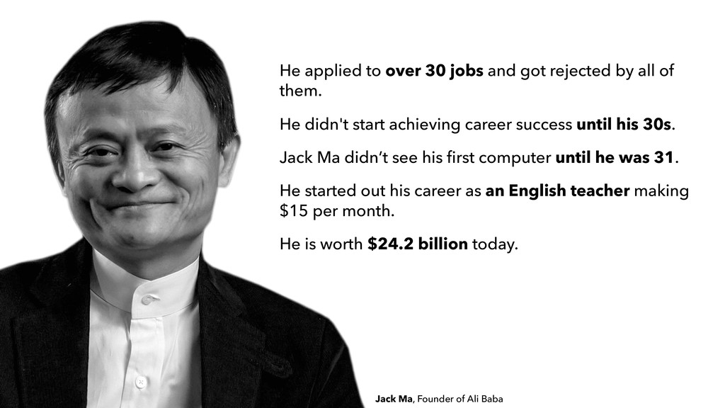 He applied to over 30 jobs and got rejected by ...