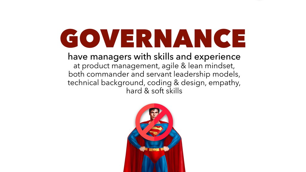GOVERNANCE have managers with skills and experi...