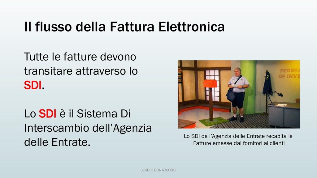 Il flusso della Fattura Elettronica Tutte le fa...