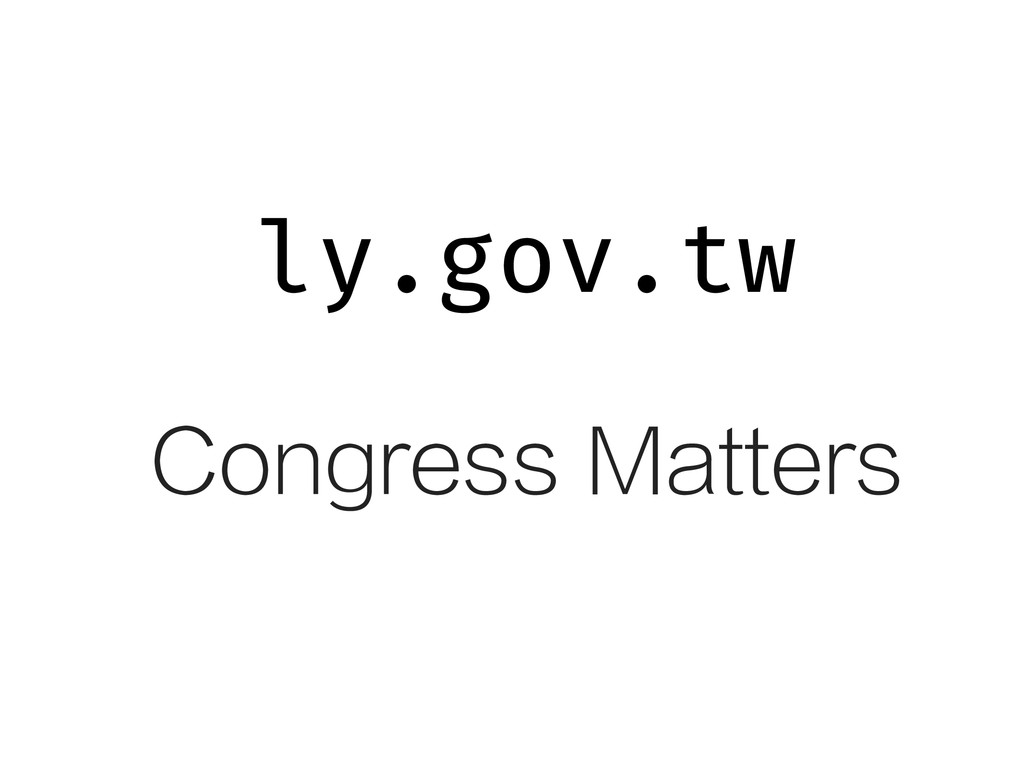 ly.g v.tw o Congress Matters