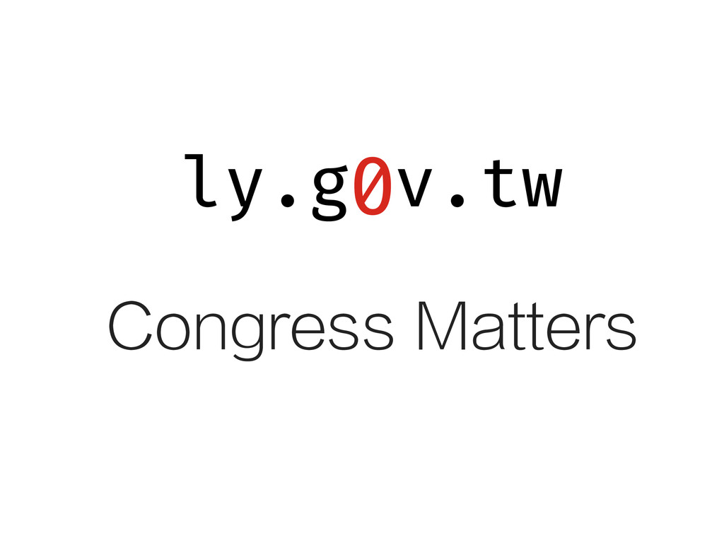 ly.g v.tw 0 Congress Matters