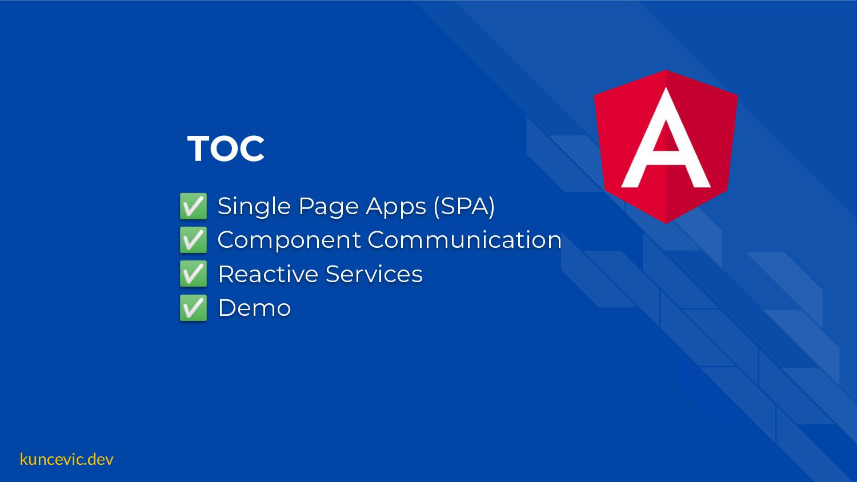 kuncevic.dev TOC ✅ Single Page Apps (SPA) ✅ Bas...