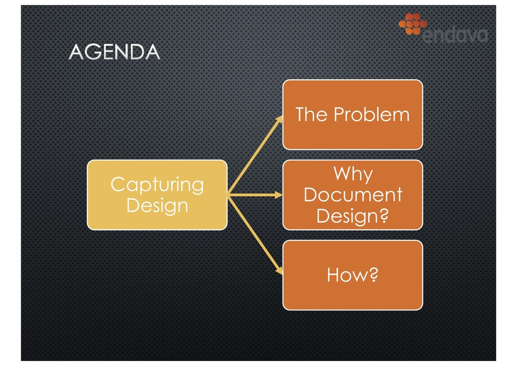 Capturing Design The Problem Why Document Desig...