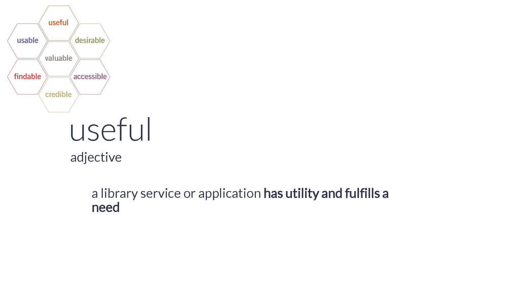 useful a library service or application has uti...