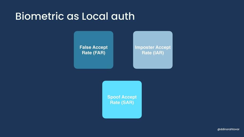 Biometric as Local auth @ddinorahtovar False Ac...