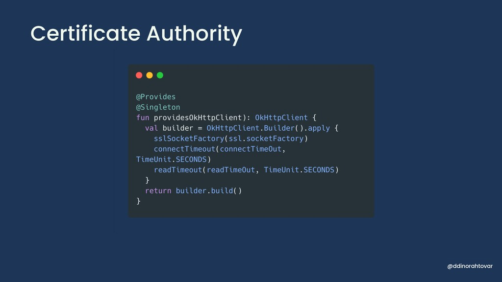Certificate Authority @ddinorahtovar