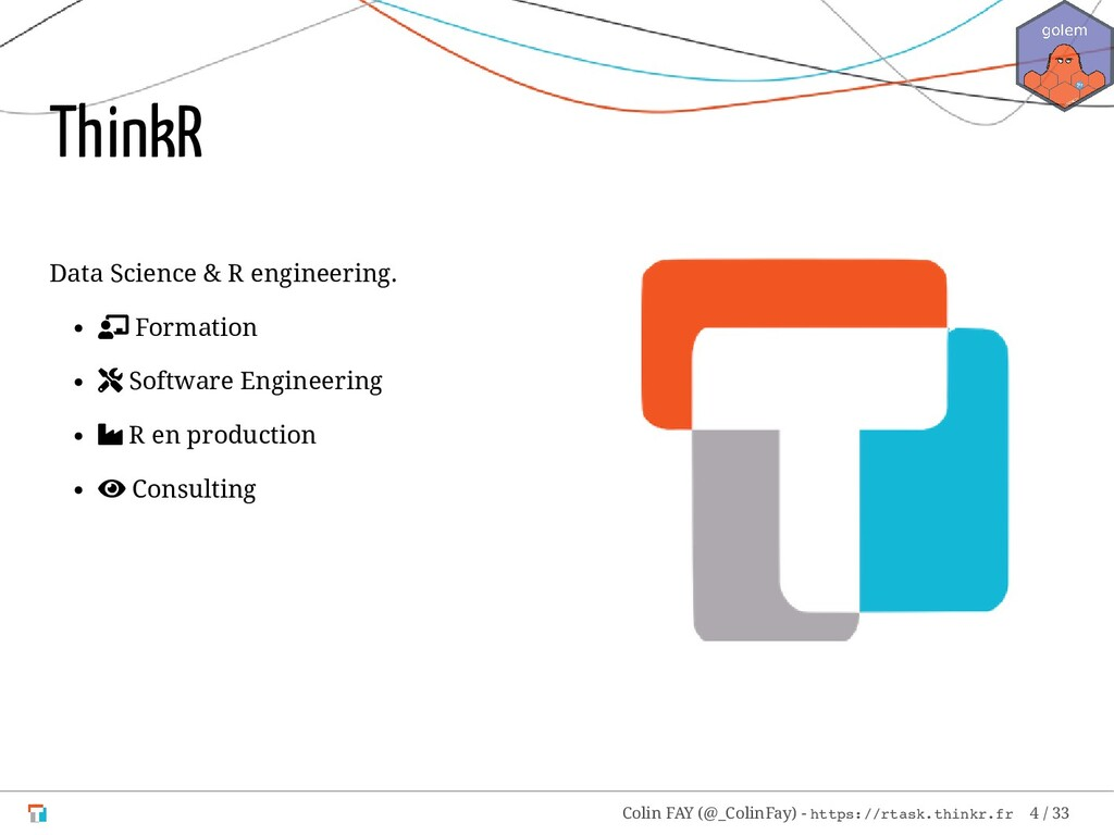 Data Science & R engineering.  Formation  Sof...