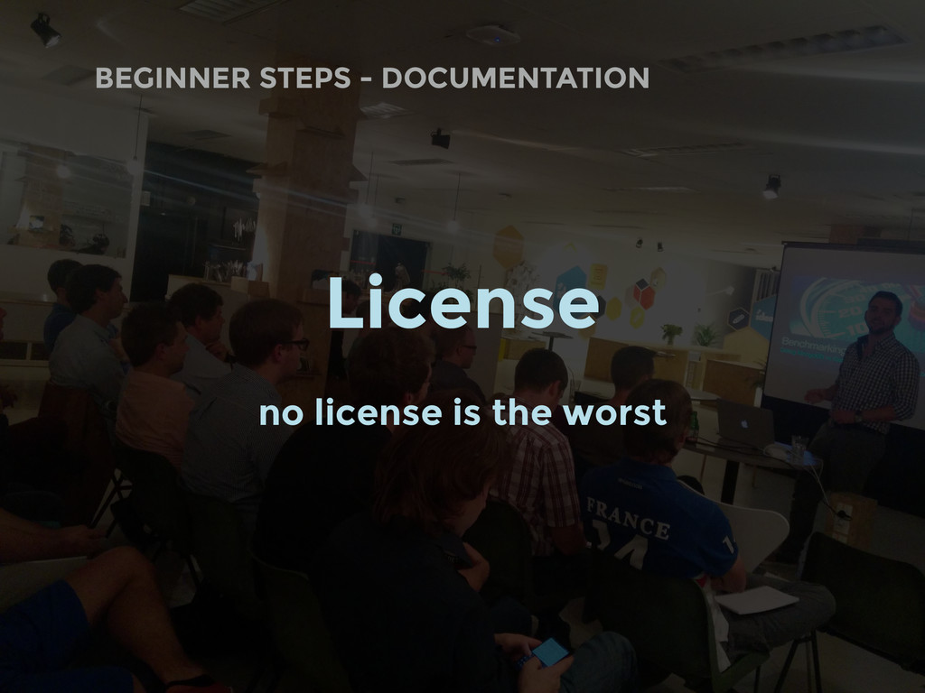 BEGINNER STEPS - DOCUMENTATION License no licen...