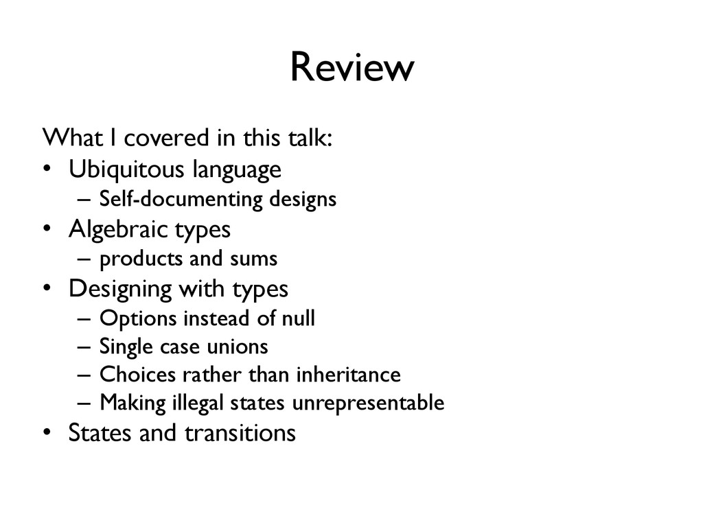 Review What I covered in this talk: • Ubiquitou...