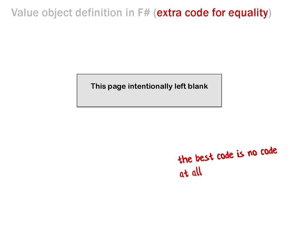 This page intentionally left blank Value object...