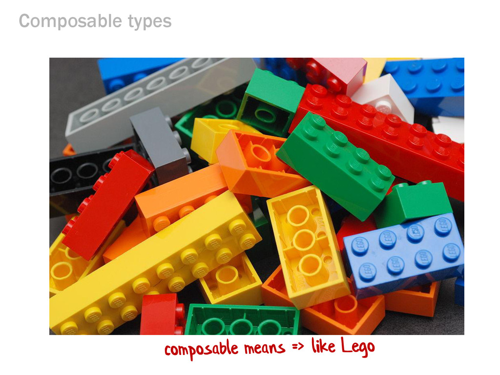 Composable types