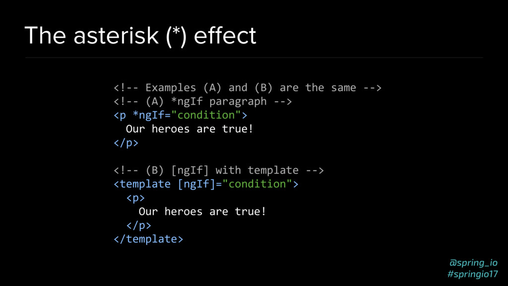 @spring_io #springio17 The asterisk (*) effect <...