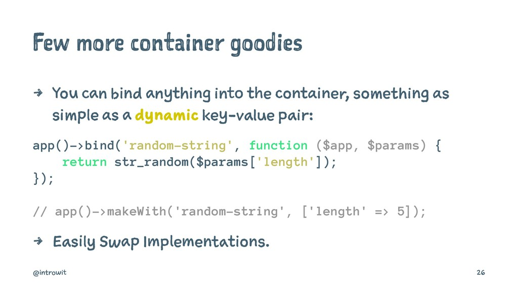 Few more container goodies 4 You can bind anyth...