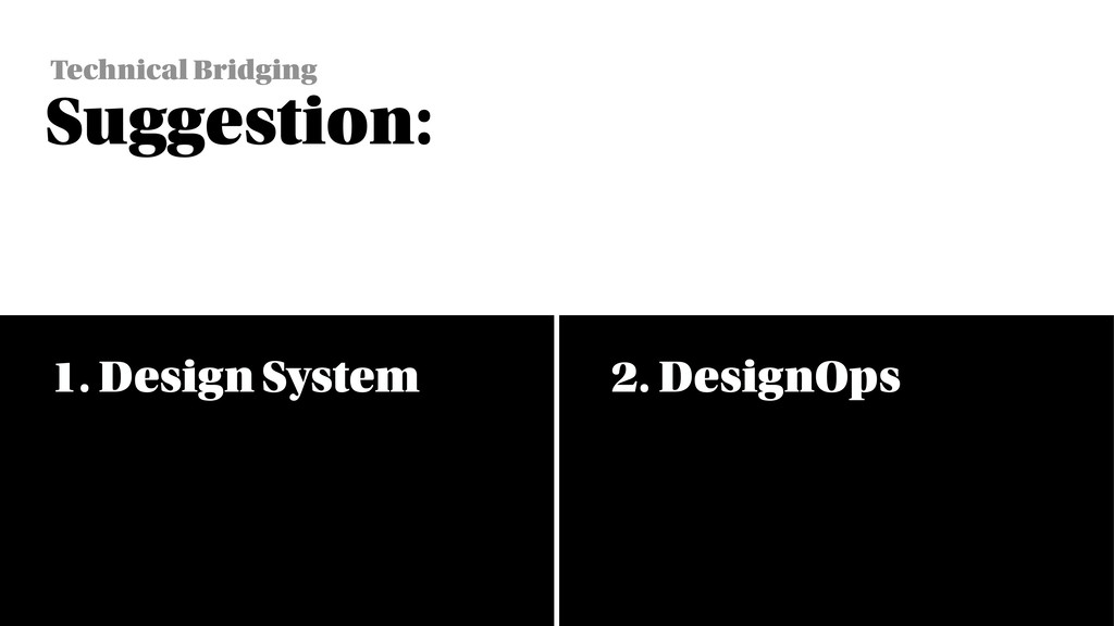 CO-CREATE WITH ALL PARTIES 1. Design System 2. ...